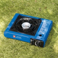 Swiss Military Camping Stove - Blue