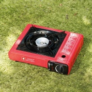 Swiss Military Camping Stove - Red