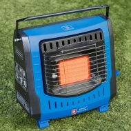 Swiss Military Portable Gas Heater - Blue