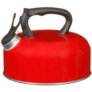 Swiss Military Whistling Kettle 2L - Red