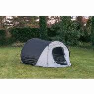 Swiss Military 3-4 Person Pop-Up Tent - Grey