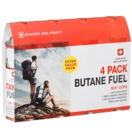 Swiss Military Butane Gas 4pk