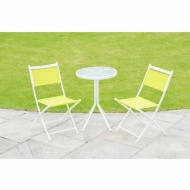 Barcelona Bistro Set 3pc - Lime