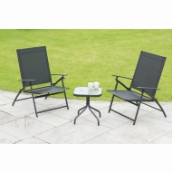 Seattle Folding Bistro Set 3pc