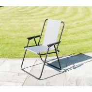 Premium Siesta Relaxer Chair - Grey