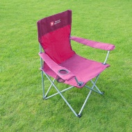 Swiss Military Camping Chair - Burgundy