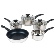Morphy Richards Stainless Steel Pan Set 5pk