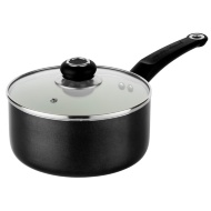 Morphy Richards Ceramic Saucepan 20cm - Black