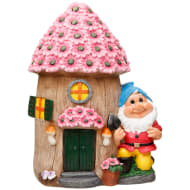 Garden Gnome House - Flowers