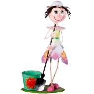 XL Dancing Kid with Plant Pot - Pink