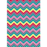 Foil Wrapping Paper 3m - Zig Zag