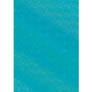 Foil Wrapping Paper 3m - Teal