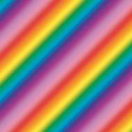 Foil Wrapping Paper 3m - Rainbows