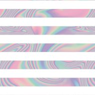 Foil Wrapping Paper 3m - Stripes