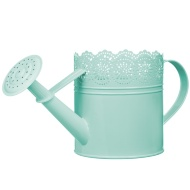 Decorative Watering Can - Green