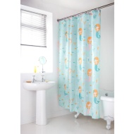 Character Shower Curtain - Mermaid
