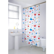 Character Shower Curtain - Sea Life