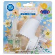 AirScents Plug In Scented Oil Unit & Refill - French Vanilla