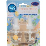 AirScents Plug In Scented Oil Refill 2pk - French Vanilla