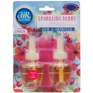 AirScents Plug In Scented Oil Refill 2pk - Sparkling Berry