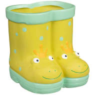 Kids Novelty Wellie Planter - Frog