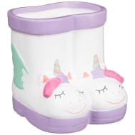 Kids Novelty Wellie Planter - Unicorn