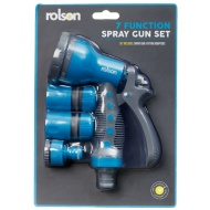 Rolson 7 Function Spray Gun - Blue