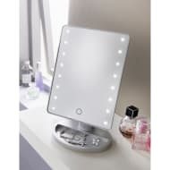 Retreat LED Cosmetic Mirror - Silver