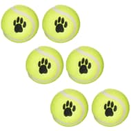 Throw & Fetch Mini Tennis Balls 6pk