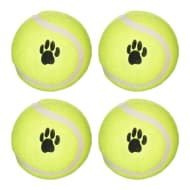 Throw & Fetch Mini Tennis Balls 4pk