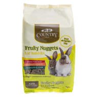 Country Vale Fruity Nuggets for Rabbits 1.5kg