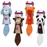 Squeaky Cord Animal Dog Toy