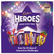Cadbury Heroes Chocolate Advent Calendar 232g