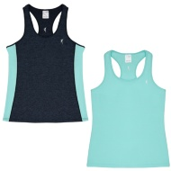 Tonetime Ladies Vests 2pk - Navy