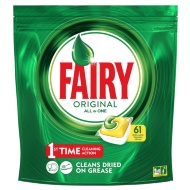 Fairy Original All in One Dishwasher Capsules 61pk