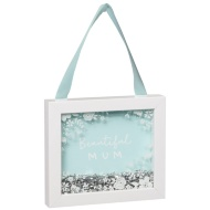Glitter Hanging Frame - Beautiful Mum