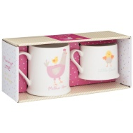 Mummy & Me Mug Set 2pk - Mother Hen