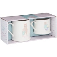 Mummy & Me Mug Set 2pk - Mummy Bear