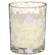 Single Candle Jar - Blooming Lovely Mum