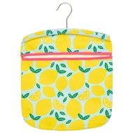 Cotton Printed Peg Bag - Lemons