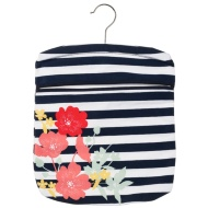 Cotton Printed Peg Bag - Floral