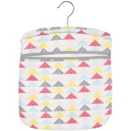Cotton Printed Peg Bag - Triangle