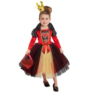 Deluxe Storybook Dress-Up Age 6-8 - Queen of Hearts