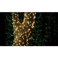 Solar Powered Micro LED Wire String Lights 200pk