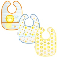 Baby Waterproof Bibs 3pk - Lion