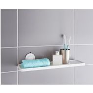 Plastic Suction Bathroom Shelf