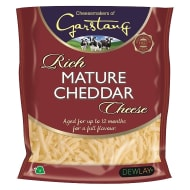 Grated Mature Cheddar Cheese 200g
