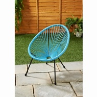Kids Hawaii String Chair - Blue