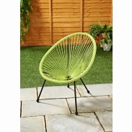 Kids Hawaii String Chair - Lime