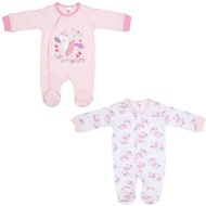 Baby Sleepsuit 2pk - Unicorn